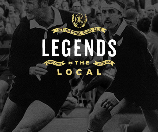 Legends @ the Local promo