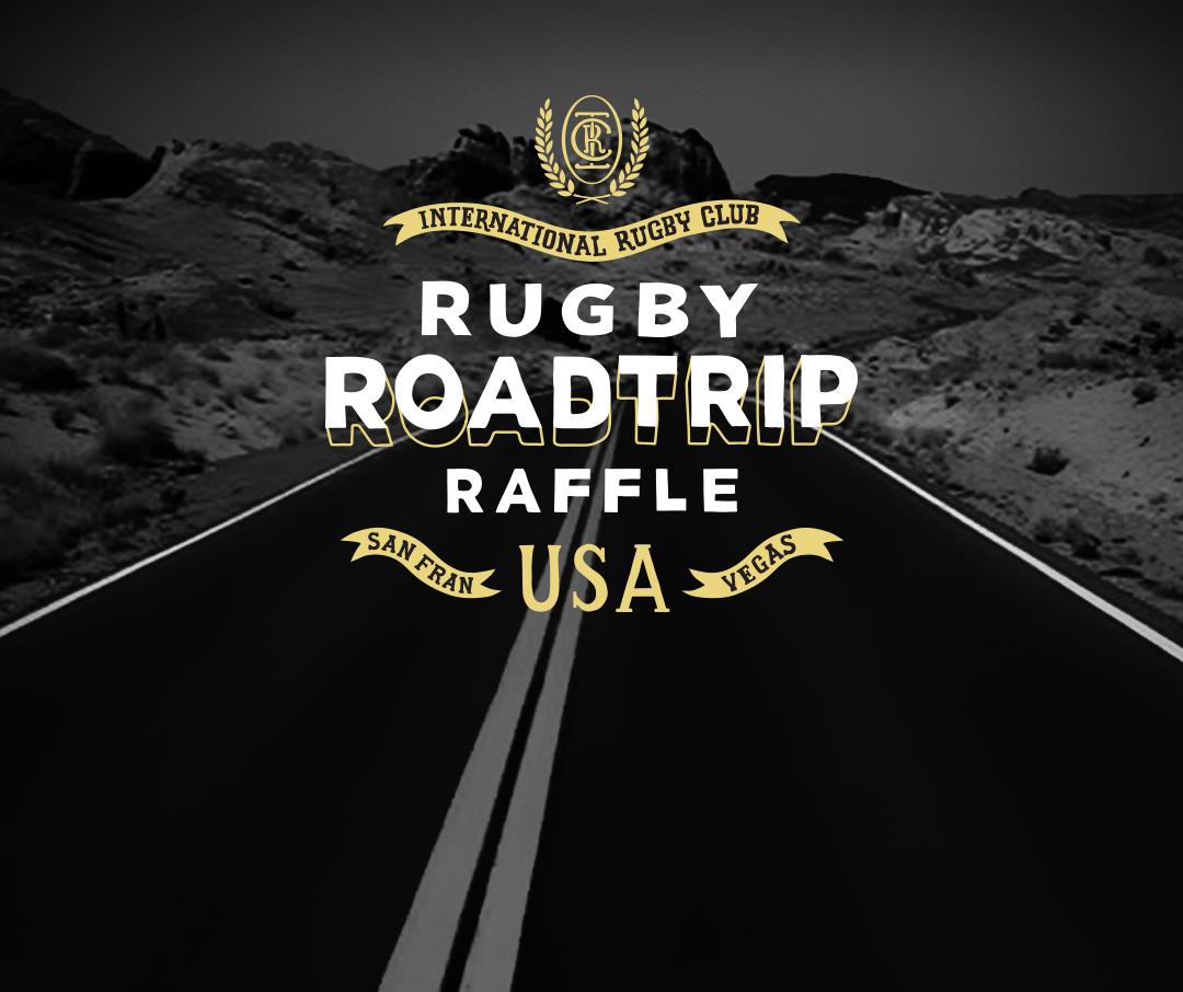 Rugby Roadtrip Raffle promo
